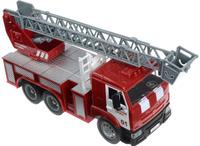 Купить Технопарк Пожарная машина инерционная Камаз цвет красный серый, Shantou City Daxiang Plastic Toy Products Co., Ltd