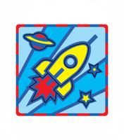 Купить Умная бумага Пазл для малышей Ракета