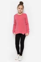 Купить Леггинсы для девочки Button Blue, цвет: черный. 216BBGC01010800. Размер 116, 6 лет, Одежда для девочек