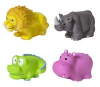 Купить Курносики Набор игрушек для ванной Африка 4 шт, Первые игрушки