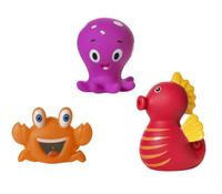 Купить Курносики Набор игрушек для ванной Обитатели морей 3 шт, Первые игрушки