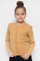 Купить Кардиган для девочки Button Blue, цвет: песочный. 216BBGC35021700. Размер 116, 6 лет, Одежда для девочек