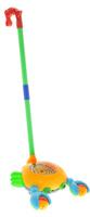 Купить Ami&Co Игрушка-каталка Рак цвет желтый голубой зеленый, Amico, Первые игрушки