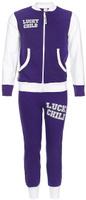 Купить Спортивный костюм детский Lucky Child, цвет: фиолетовый, белый. 8-2. Размер 98/104, 4 года, Одежда для новорожденных