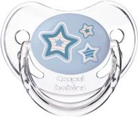 Купить Canpol Babies Пустышка силиконовая Newborn Baby от 0 до 6 месяцев цвет голубой
