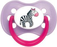 Купить Canpol Babies Пустышка латексная Animals от 6 до 18 месяцев цвет цвет розовый сиреневый