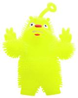 Купить 1TOY Игрушка-антистресс Ё-Ёжик Медвежонок-хиппи цвет желтый, Ultratech, Развлекательные игрушки