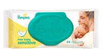 Купить Pampers Детские влажные салфетки New Baby Sensitive 54 шт