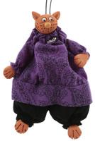 Купить Подвесная кукла Супер кот . Авторская работа. kyrk01, YusliQ, Куклы и аксессуары