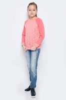 Купить Свитшот для девочки M&D, цвет: коралловый. WJK26052M-4. Размер 122, Одежда для девочек