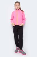 Купить Брюки для девочки Pastilla Принцесса, цвет: черный. 6815. Размер 116, Одежда для девочек