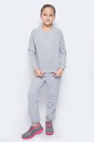 Купить Спортивный костюм для девочки Pastilla Принцесса, цвет: серый меланж. 6445. Размер 122, Одежда для девочек