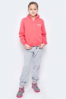 Купить Спортивный костюм для девочки Pastilla Чемпионка, цвет: коралловый, серый меланж. 6449. Размер 164, Одежда для девочек