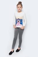 Купить Лонгслив для девочки M&D, цвет: молочный. WJF260072-17. Размер 122, Одежда для девочек