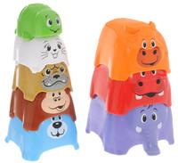 Купить Playgo Пирамидка Животные 2375, Развивающие игрушки