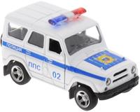 Купить ТехноПарк Машинка инерционная УАЗ Hunter Полиция, Машинки