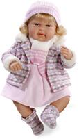 Купить Arias Пупс озвученный Elegance цвет одежды розовый Т59788, Munecas Arias, S.L