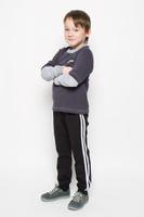 Купить Брюки спортивные для мальчика Pastilla Фристайл, цвет: черный. 6453. Размер 116, Одежда для мальчиков