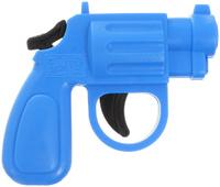 Купить Форма Пистолет Малышки цвет голубой, Игрушечное оружие