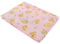 Купить Простыня на резинке детская Primavelle , цвет: розовый, 60 см х 120 см х 20 см