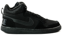 Купить Кеды детские Nike Recreation Mid, цвет: черный. 839977-001. Размер 4 (35, 5), Обувь для девочек