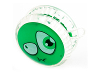Купить Россия Волчок на шнуре Yo-Yo Смайл Эврика цвет зеленый, Развлекательные игрушки