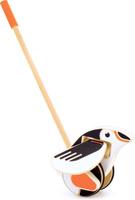 Купить Мир деревянных игрушек Игрушка-каталка Пингвин