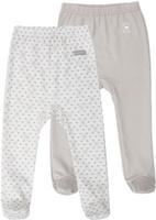 Купить Ползунки Lucky Child Дуэт, цвет: бежевый, молочный, 2 шт. 33-4. Размер 68/74, Одежда для новорожденных