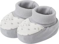 Купить Пинетки для мальчика Lucky Child, цвет: серый. 33-29_интерлок. Возраст 0/3 мес, Одежда для новорожденных