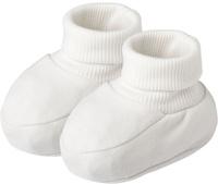 Купить Пинетки для мальчика Lucky Child, цвет: молочный. 33-29_интерлок. Возраст 0/3 мес, Одежда для новорожденных