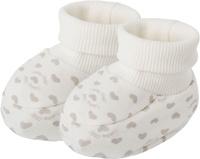 Купить Пинетки для девочки Lucky Child, цвет: серо-бежевый. 33-29_интерлок. Возраст 0/3 мес, Одежда для новорожденных