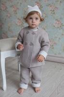 Купить Штанишки для девочки Lucky Child Дуэт, цвет: бежевый. 33-14. Размер 74/80, Одежда для новорожденных