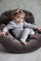 Купить Штанишки для девочки Lucky Child Дуэт, цвет: бежевый, молочный, 2 шт. 33-11. Размер 68/74, Одежда для новорожденных
