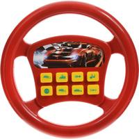 Купить Играем вместе Игрушечный руль Машина цвет красный