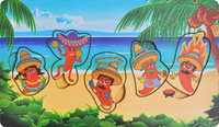 Купить Фабрика Мастер игрушек Рамка-вкладыш Мексика, Тимбергрупп