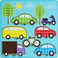 Купить Фабрика Мастер игрушек Рамка-вкладыш Средства передвижения, Тимбергрупп, Обучение и развитие