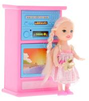 Купить Shantou Игровой набор с мини-куклой Bettina со шкафом и телевизором, Куклы и аксессуары
