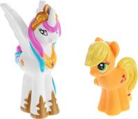 Купить Играем вместе Набор из игрушек для ванной My Little Pony цвет белый желтый 2 шт