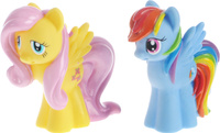 Купить Играем вместе Набор из игрушек для ванной My Little Pony цвет голубой желтый 2 шт