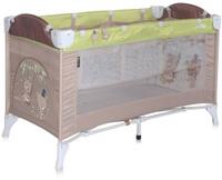 Купить Lorelli Манеж-кроватка Arena 2 цвет бежевый зеленый, Манежи