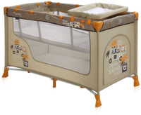 Купить Lorelli Манеж-кроватка Nanny 2 цвет бежевый, Манежи