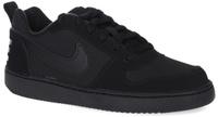 Купить Кроссовки детские Nike Court Borough Low (GS), цвет: черный. 839985-001. Размер 5 (37), Обувь для девочек