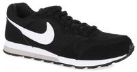 Купить Кроссовки детские Nike Md Runner 2 (GS), цвет: черный, белый. 807316-001. Размер 6, 5 (38, 5), Обувь для девочек