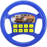 Купить Играем вместе Игрушечный руль Машина цвет синий