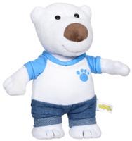 Купить Мульти-Пульти Мягкая озвученная игрушка Полярный медведь Поби 22 см