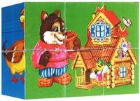 Купить Играем вместе Кубики Русские сказки, Развивающие игрушки