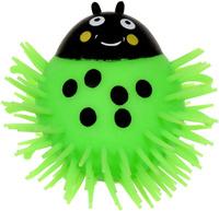 Купить 1TOY Игрушка-антистресс Ё-Ёжик Жук цвет зеленый
