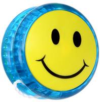 Купить Эврика Йо-йо Смайл цвет синий, Развлекательные игрушки