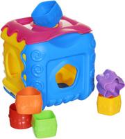 Купить Нордпласт Сортер Кубик цвет желтый розовый голубой