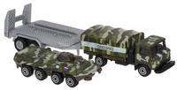 Купить ТехноПарк Набор машинок Военная техника Грузовик с прицепом и бронетранспортер 2 шт